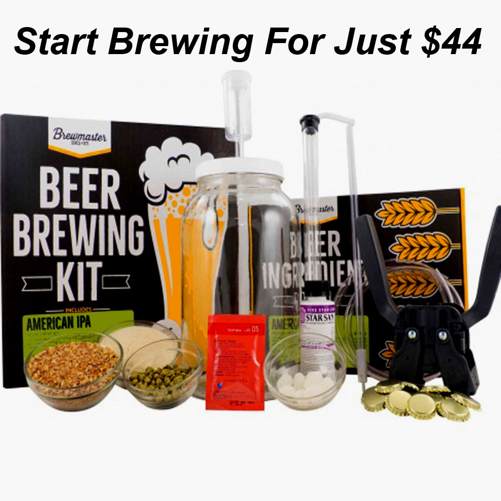 Save $10 On An IPA Home Brewing Starter Kit Coupon Code