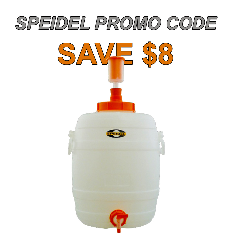 8 Gallon Speidel Fermenter for Just $52 Coupon Code