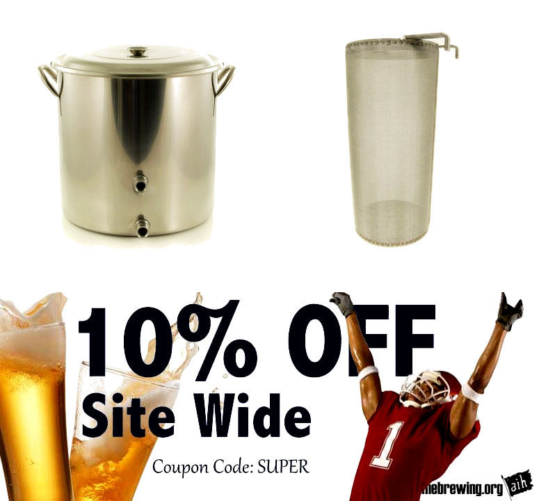 Save 10% Off Your Order At Adventures In Homebrewing Sale