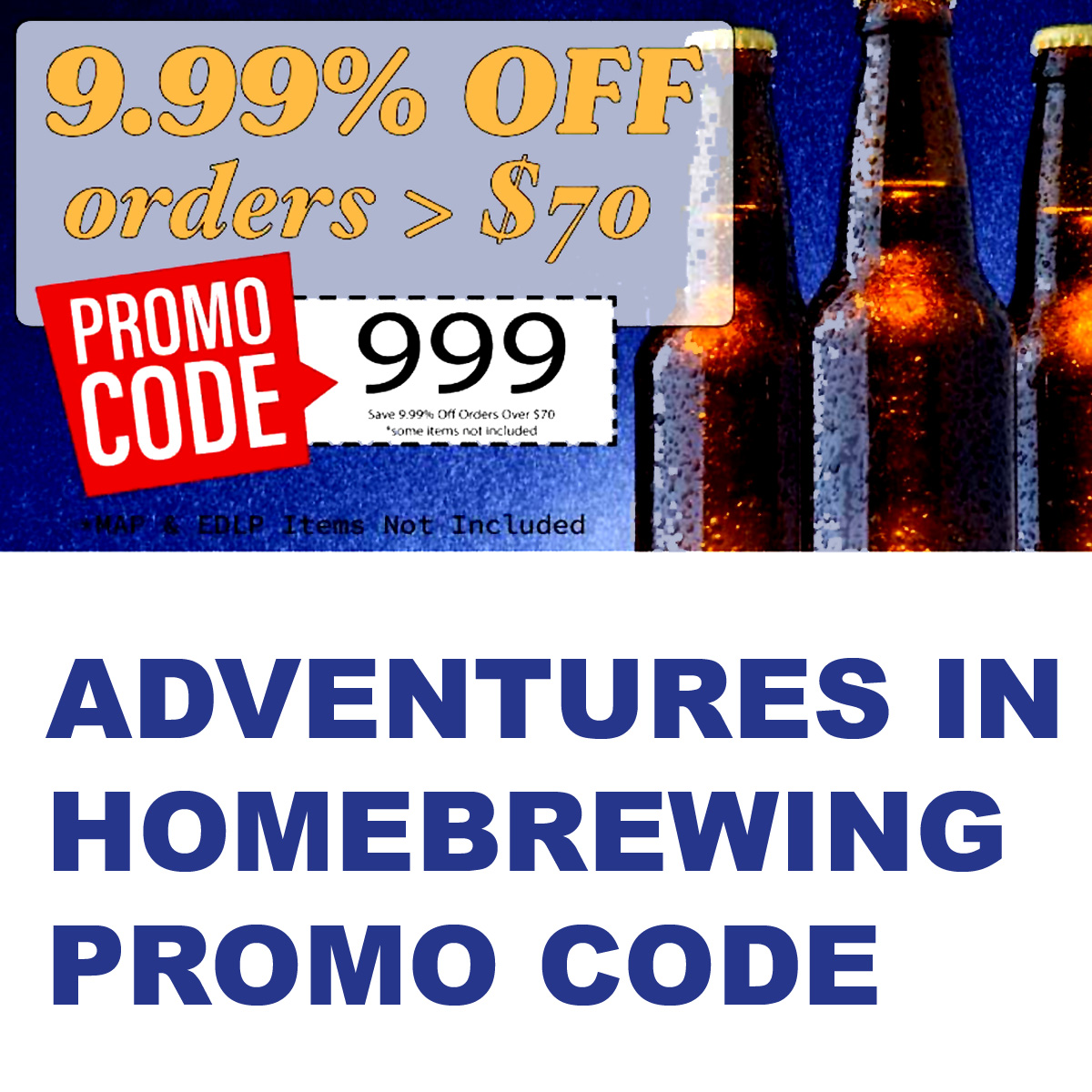 Adventures In Homebrewing Save 10% On Orders Over $70 at Adventures in Homebrewing Coupon Code