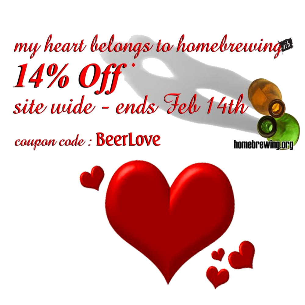 Save 14% On You Homebrewing.Org Order Sale
