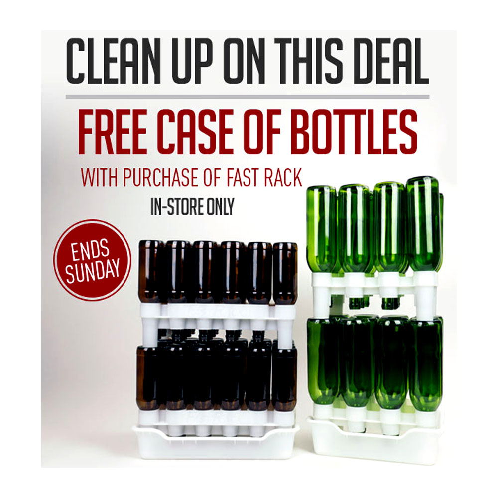 BUY A FASTRACK, GET A FREE CASE OF BOTTLES! Coupon Code