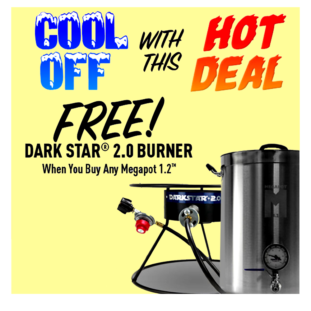 BUY A MEGAPOT AND GET A DARK STAR BURNER FREE Coupon Code