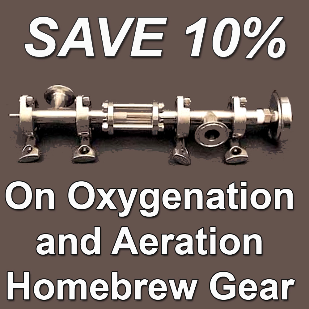 Save 10% On Select Oxygenation and Aeration Home Brewing Products Coupon Code