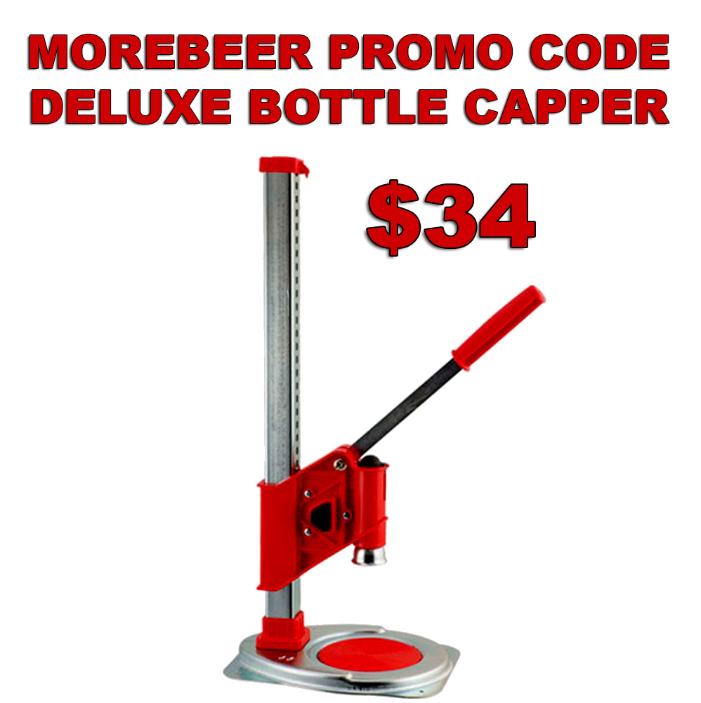 Ferrari Deluxe Bench Capper Just $34 With MoreBeer Promo Code Coupon Code