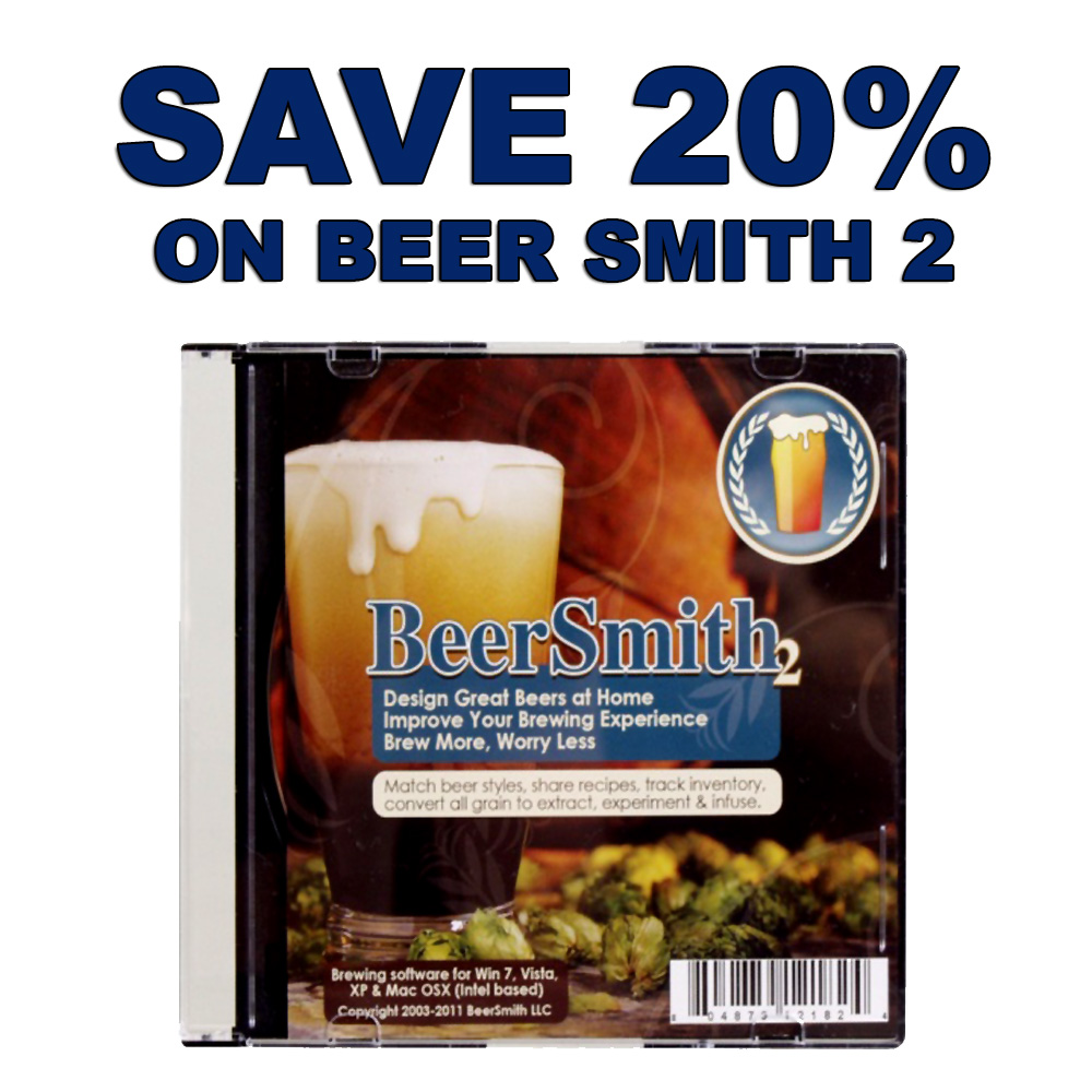 Save 20% On BeerSmith 2 Home Beer Brewing Software Promo Codes