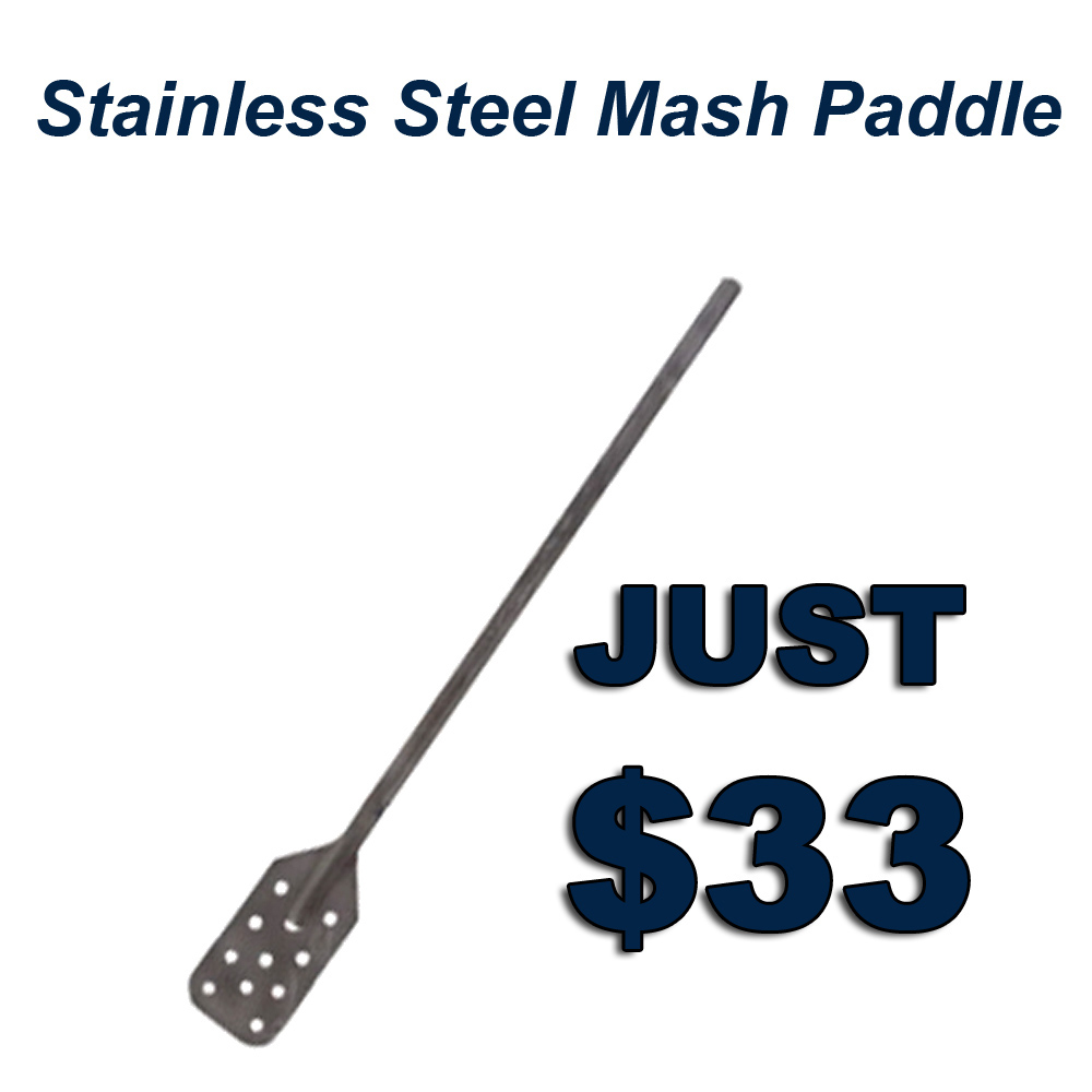 Get A Stainless Steel Mash Paddle for Just $33 Coupon Code