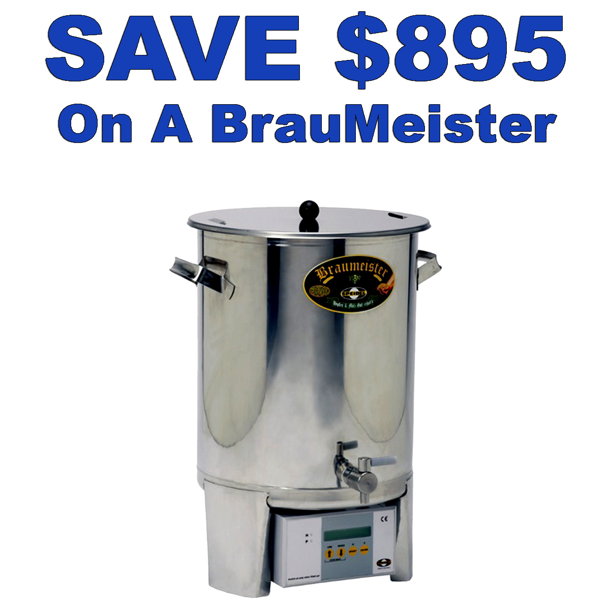 Save $895 On A Used Brau Meister Electric Homebrewing System While Supplies Last Coupon Code