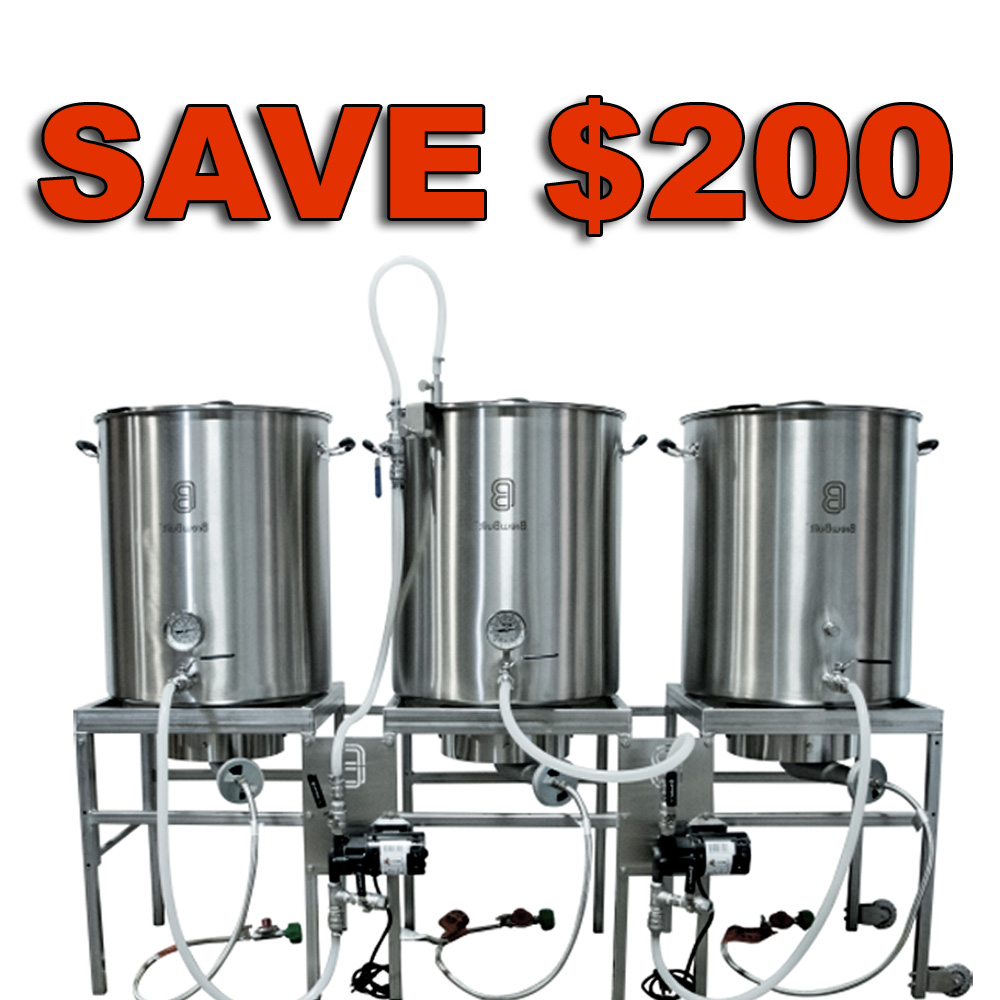 Save $200 On A BrewBuilt All Grain Home Brewing System Coupon Code