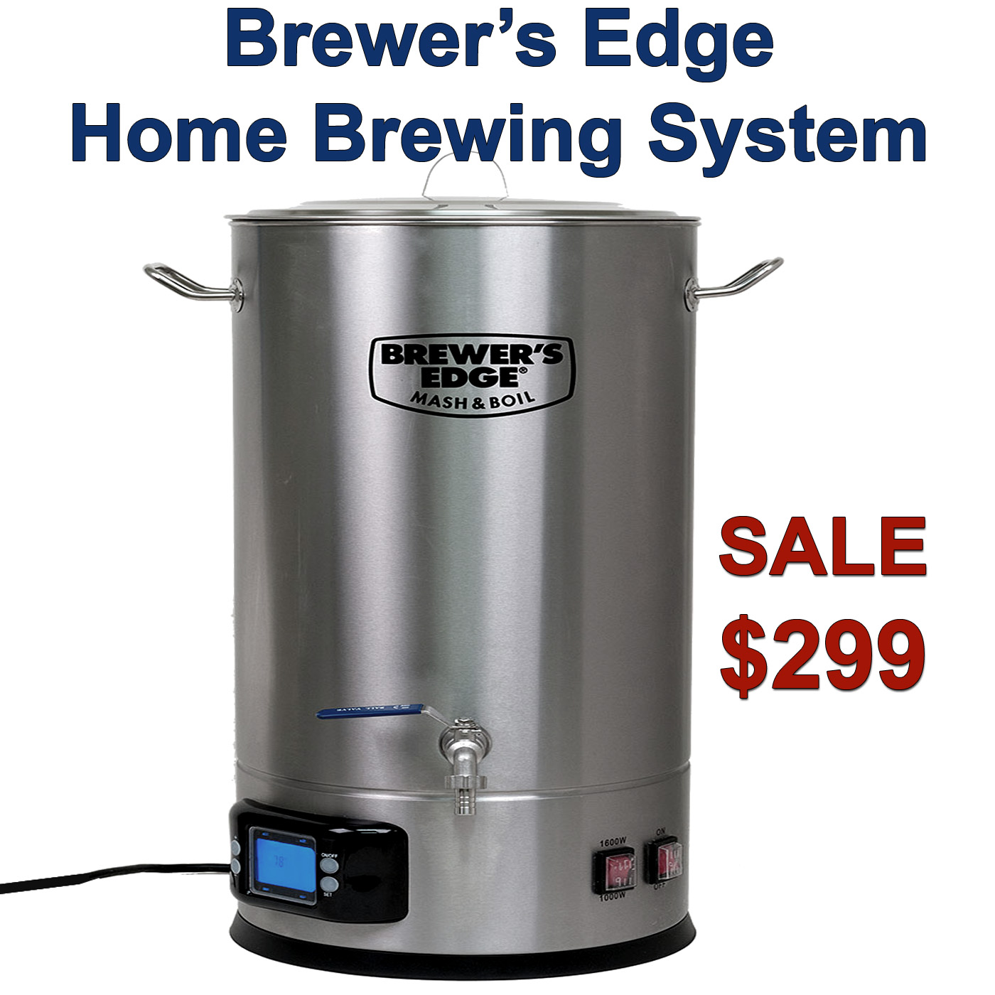 Get a BrewersEdge Homebrewing System Just $299