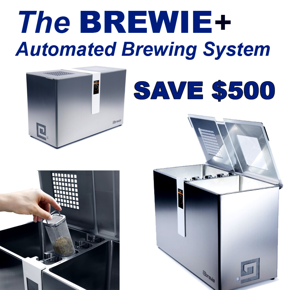 Take $500 Off A New Brewie Plus Homebrewing System Coupon Code