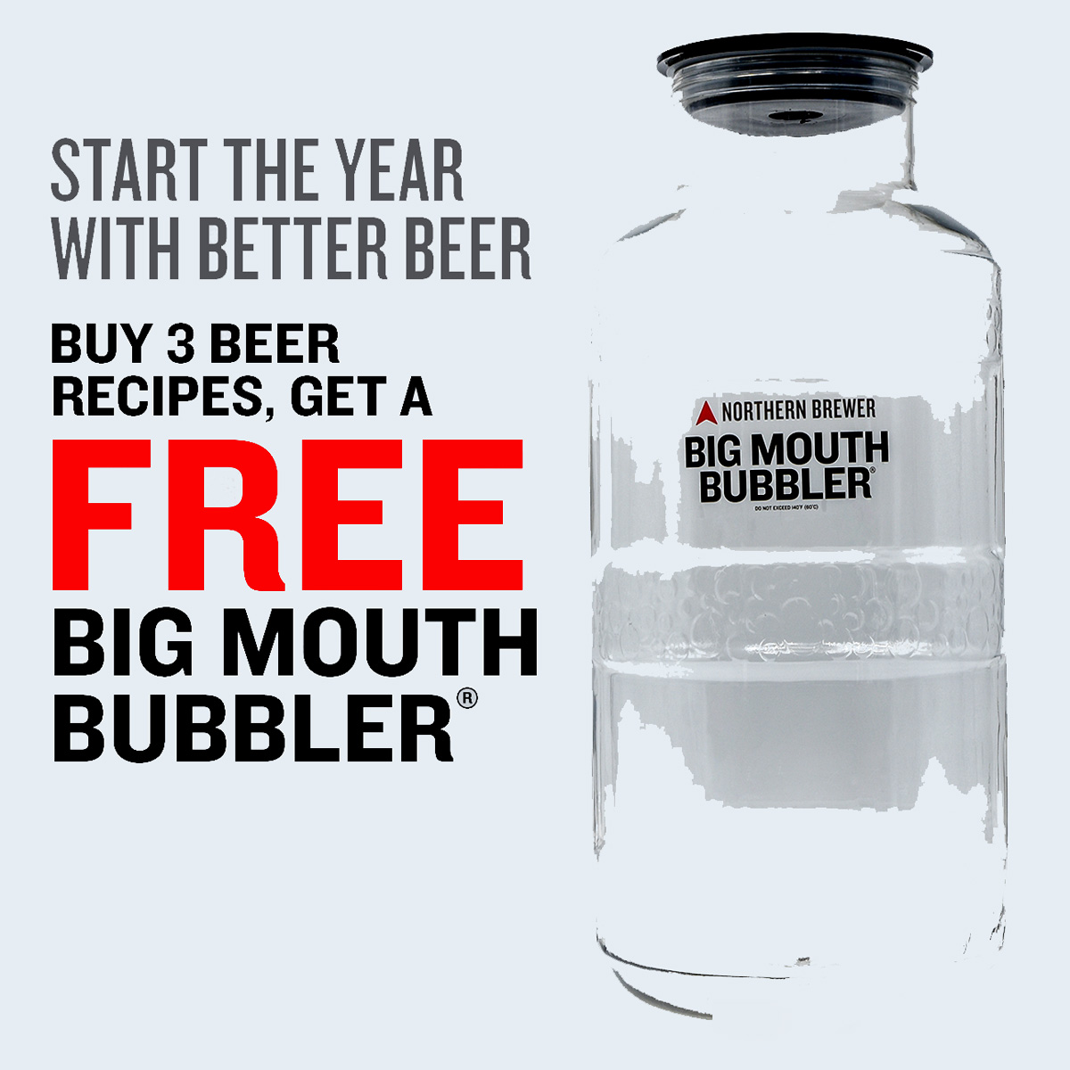 Northern Brewer Buy 3 Beer Kits And Get A Free Big Mouth Bubbler Fermenter Northern Brewer Promo Code Coupon Code