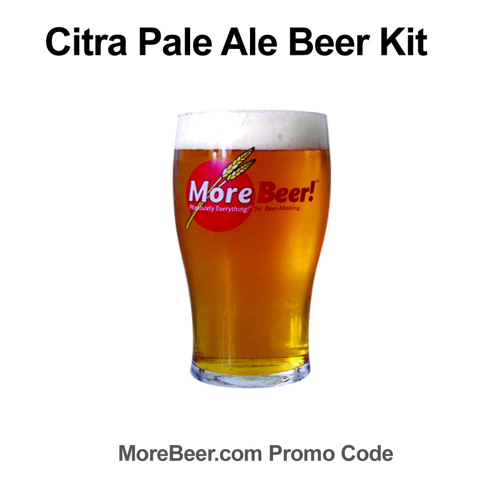 Save $7 On A Citra Pale Ale Extract Homebrew Recipe Kit Sale