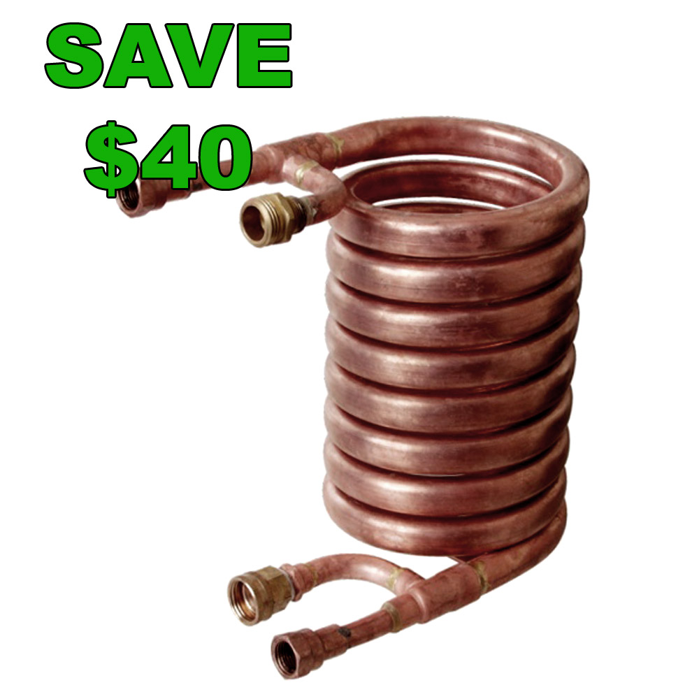 Save $40 On A Counterflow Chiller Today Only Coupon Code