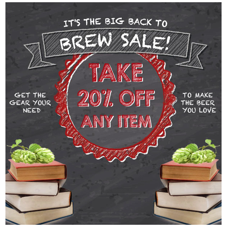 Take 20% OFF A Single Item at Northern Brewer Coupon Code
