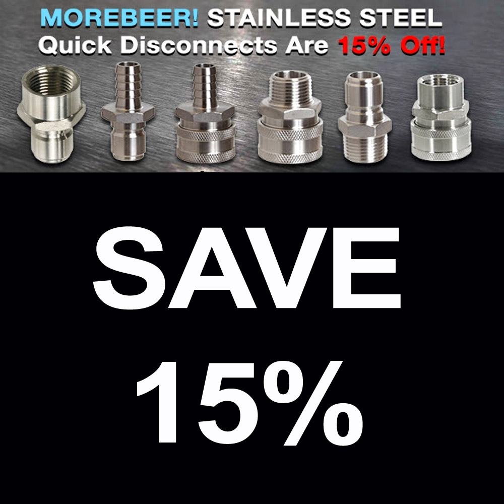 Save 15% On Stainless Steel Quick Disconnects Sale