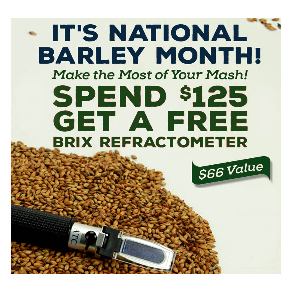 Get A Free Refractometer When You Spend $125 at Northern Brewer Coupon Code