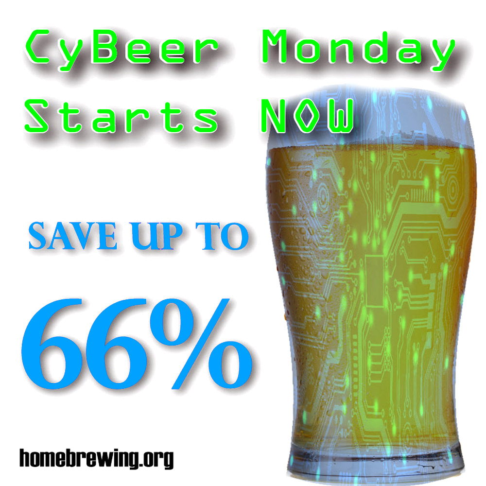 Save Up To 60% During the Adventures in Homebrewing Cyber Monday Sale Sale