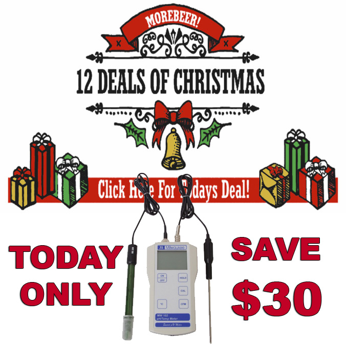 Save $30 on a Homebrewing Digital pH Meter Today Only Promo Codes
