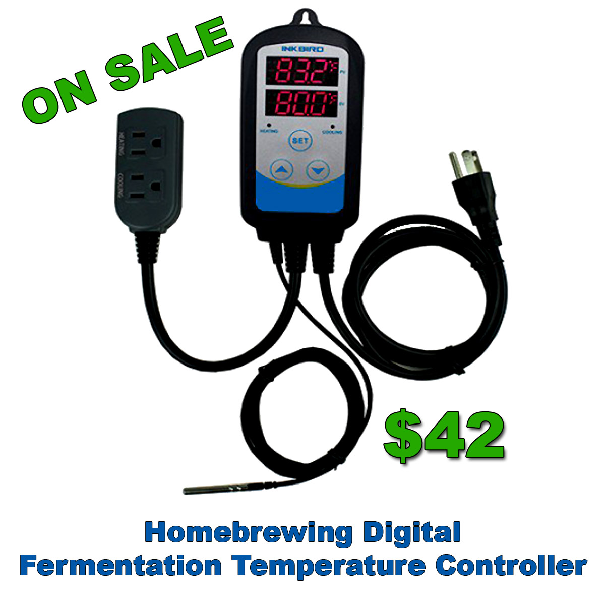 Homebrewing Digital Fermentation Temperature Controller On Sale Promo Codes