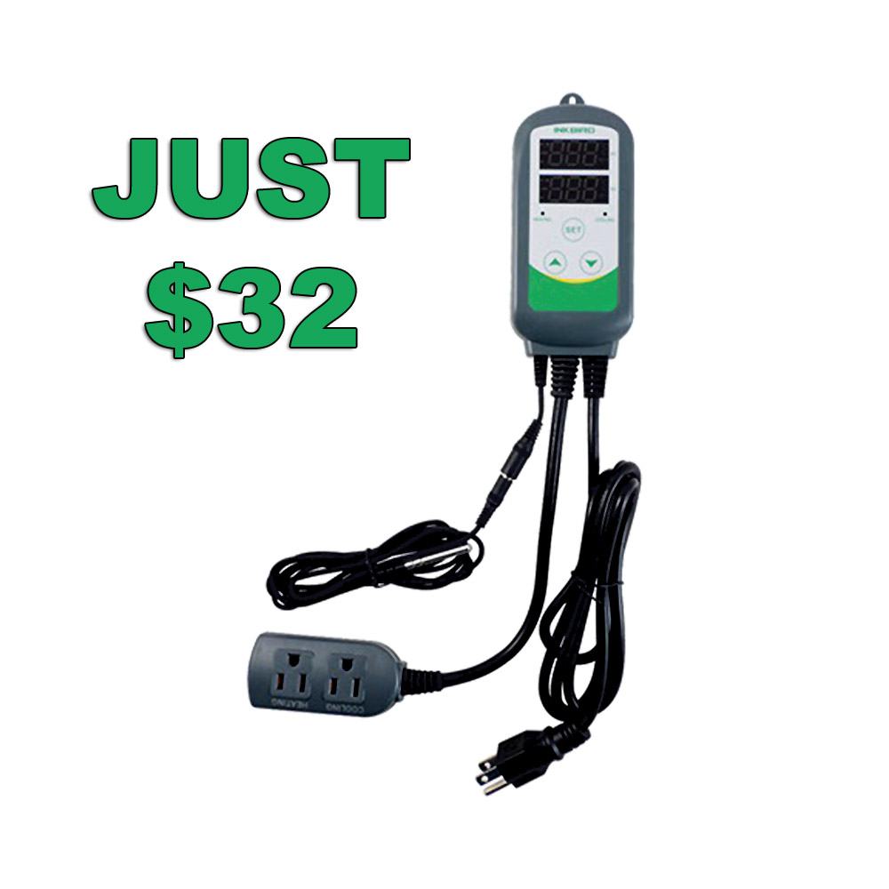Get a Dual Stage Homebrew Temperature Controller for Just $32 With Promo Code Coupon Code
