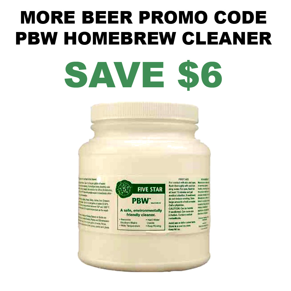 4 LBS Container of PBW Home Brewing Cleaner Just $20 Coupon Code