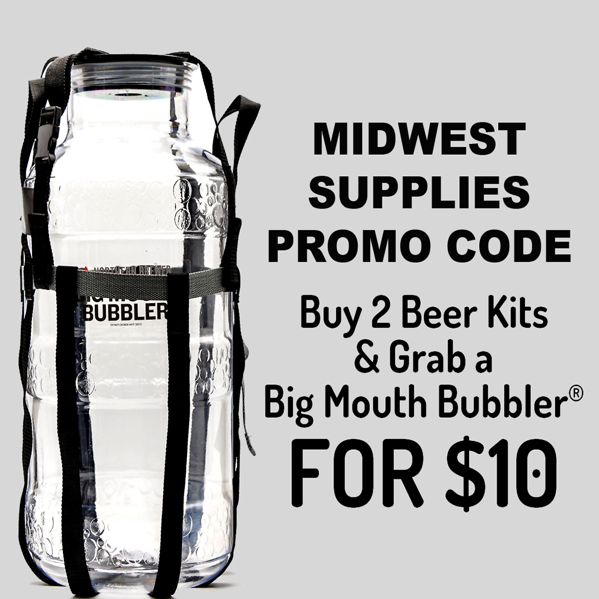 Midwest Supplies Buy 2 Beer Kits and get a Free Fermenter Coupon Code for MidwestSupplies.com Coupon Code