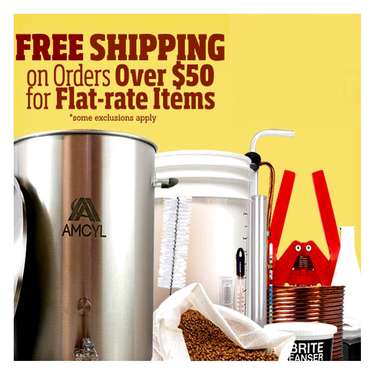 Free Shipping Promo Code for HomebrewSupply.com Coupon Code