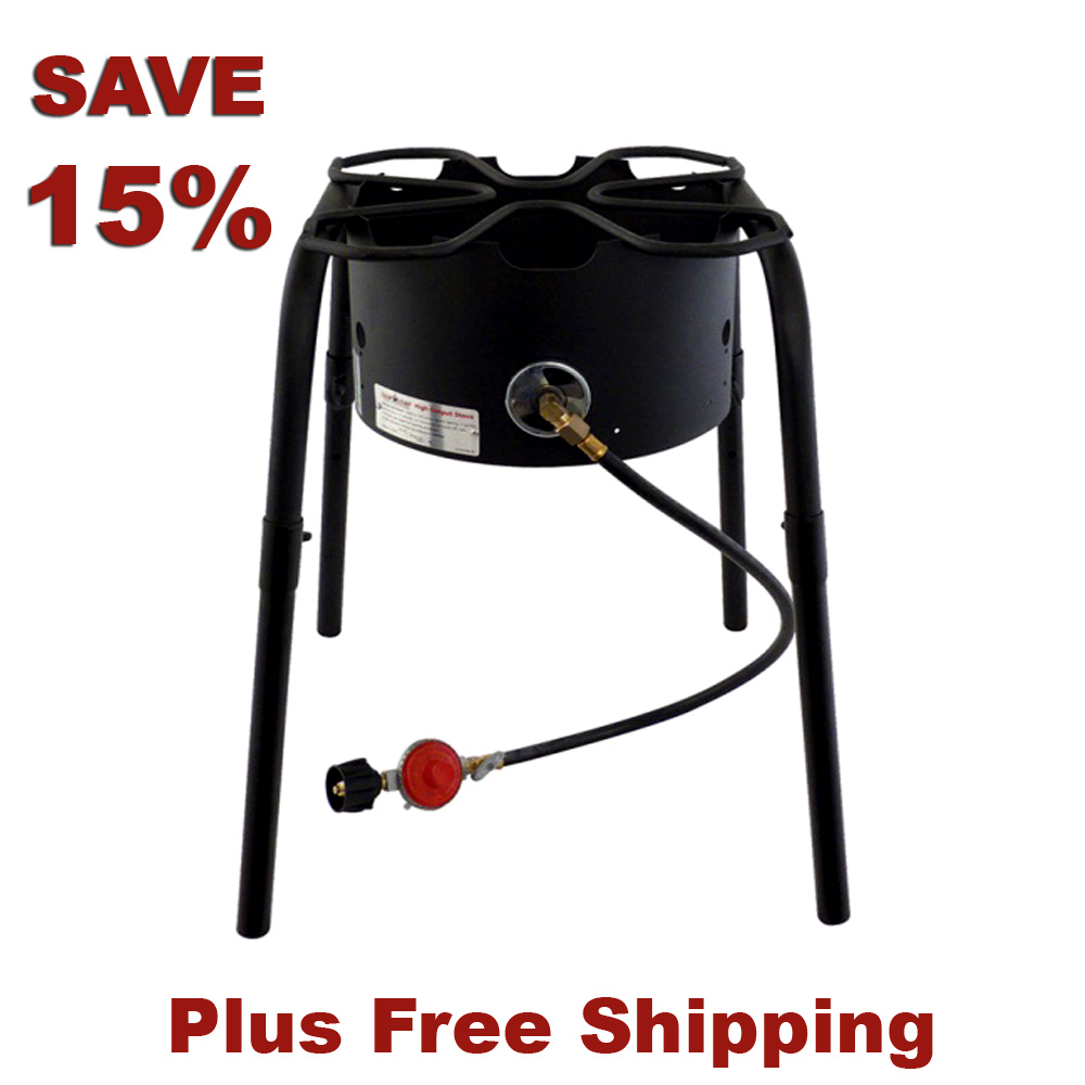 Save 15% On A Home Brewing Burner and Stand With This MoreBeer.com Coupon Coupon Code