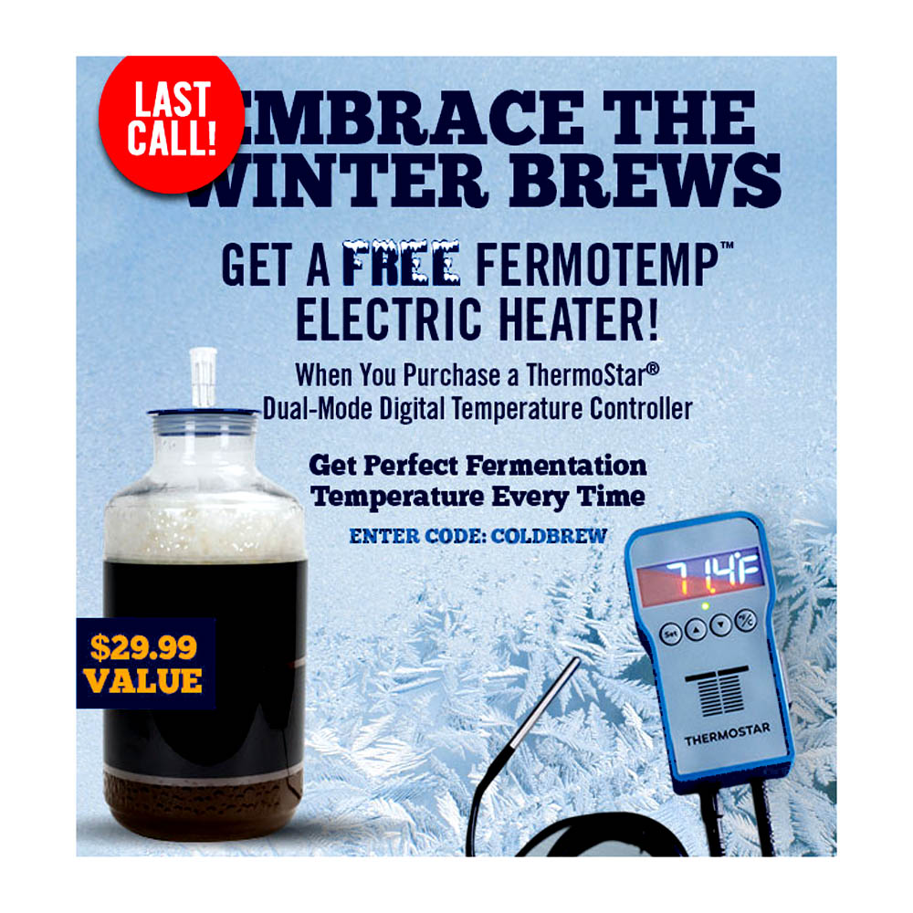 Free Fermotemp with Purchase of a Thermostar Coupon Code