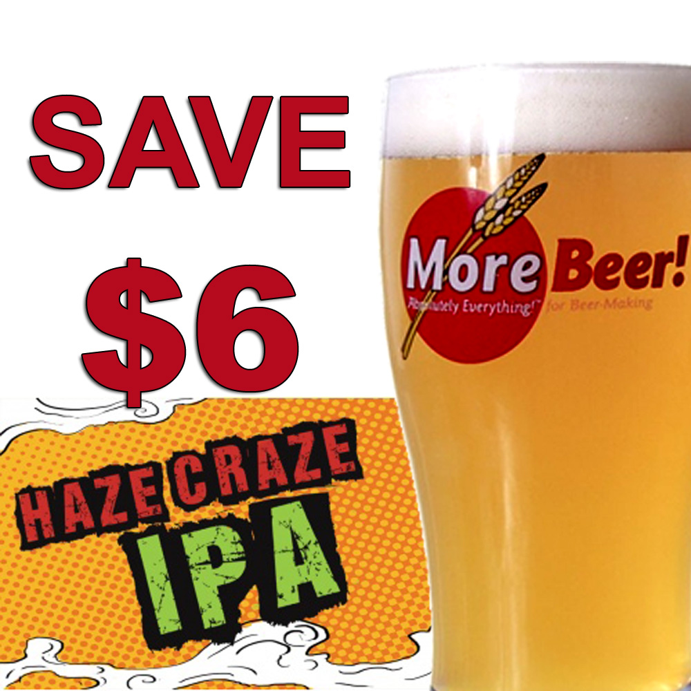 Save $6 On A Hazy IPA Homebrewing Kit Coupon Code