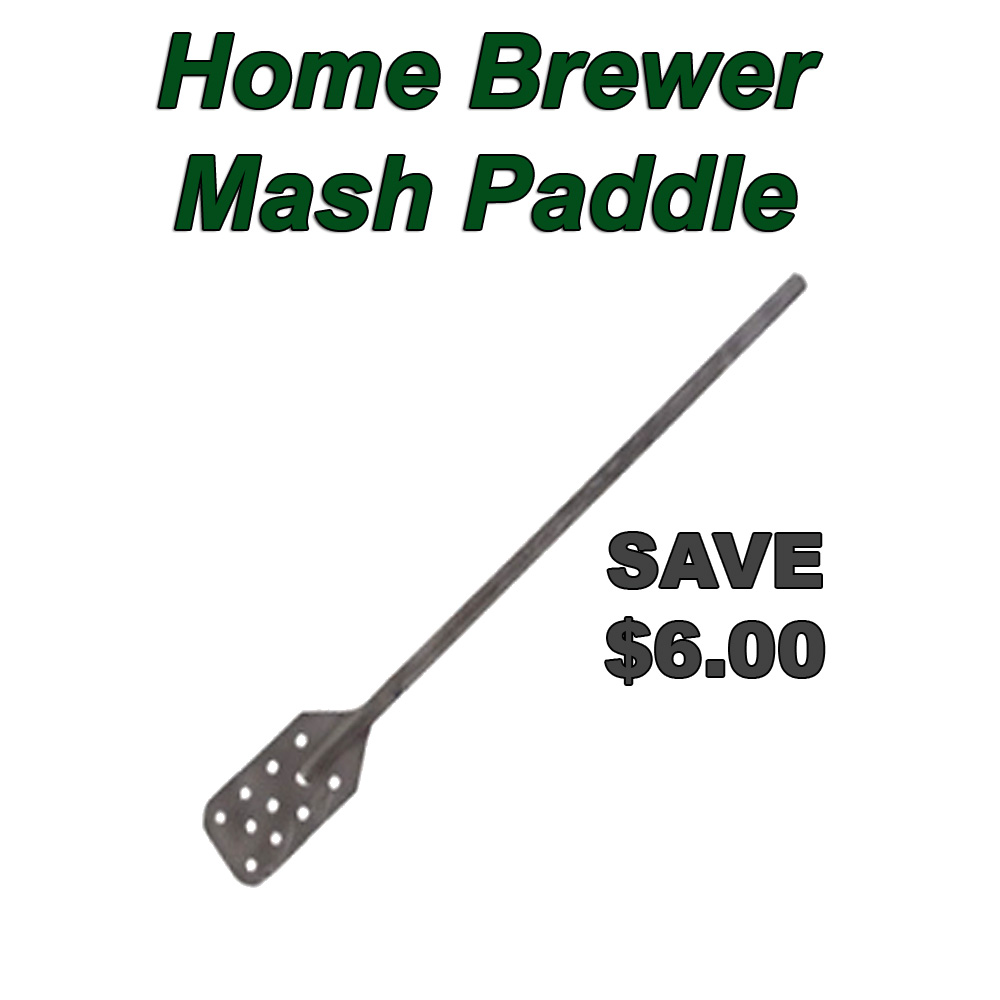 Promo Code for $6 Off A Stainless Steel Homebrew Mash Paddle Coupon Code