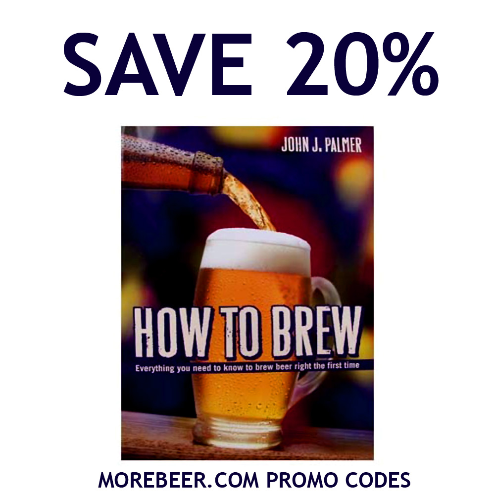 Save 20% On The Top Selling Home Brewing Book, HOW TO BREW Coupon Code