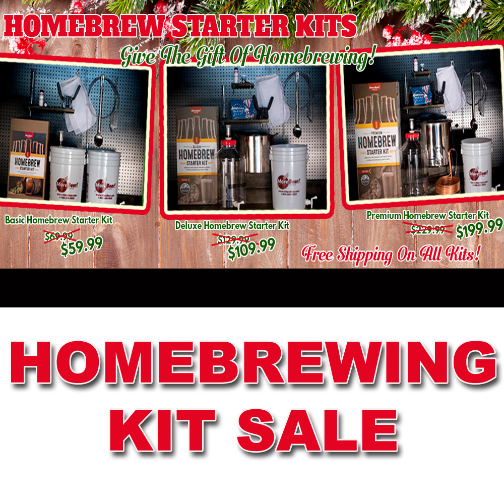 Save 15% Or More On Home Brewing Kits + FREE SHIPPING Coupon Code