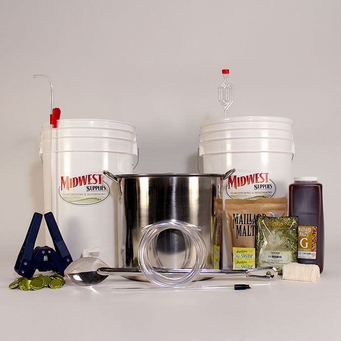 Brewing Kit Midwest Supplies I firmly believe that the kitchen is an incredible source of knowledge, and that you can't truly understand something you love until you try making it yourself.