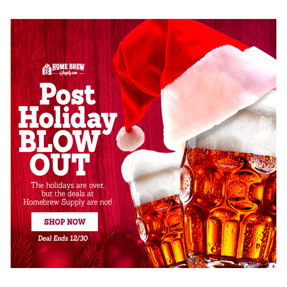 Homebrew Holiday Sale Blow Out! Promo Codes