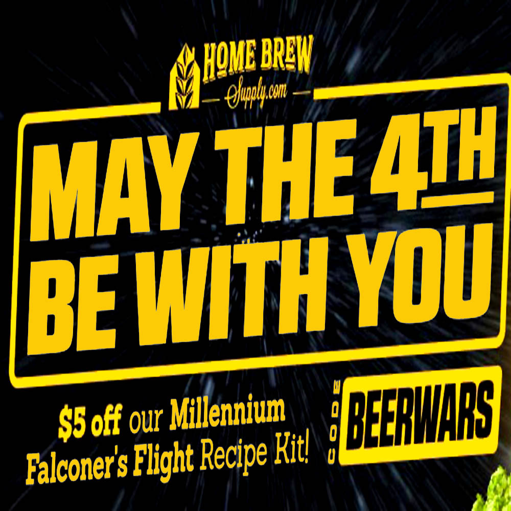 Save $5 On A Millenium Falconer's Homebrew Kit Coupon Code