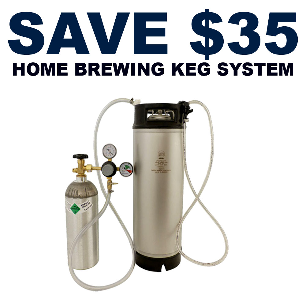 Save $35 On A Complete Home Brewing Keg System Coupon Code
