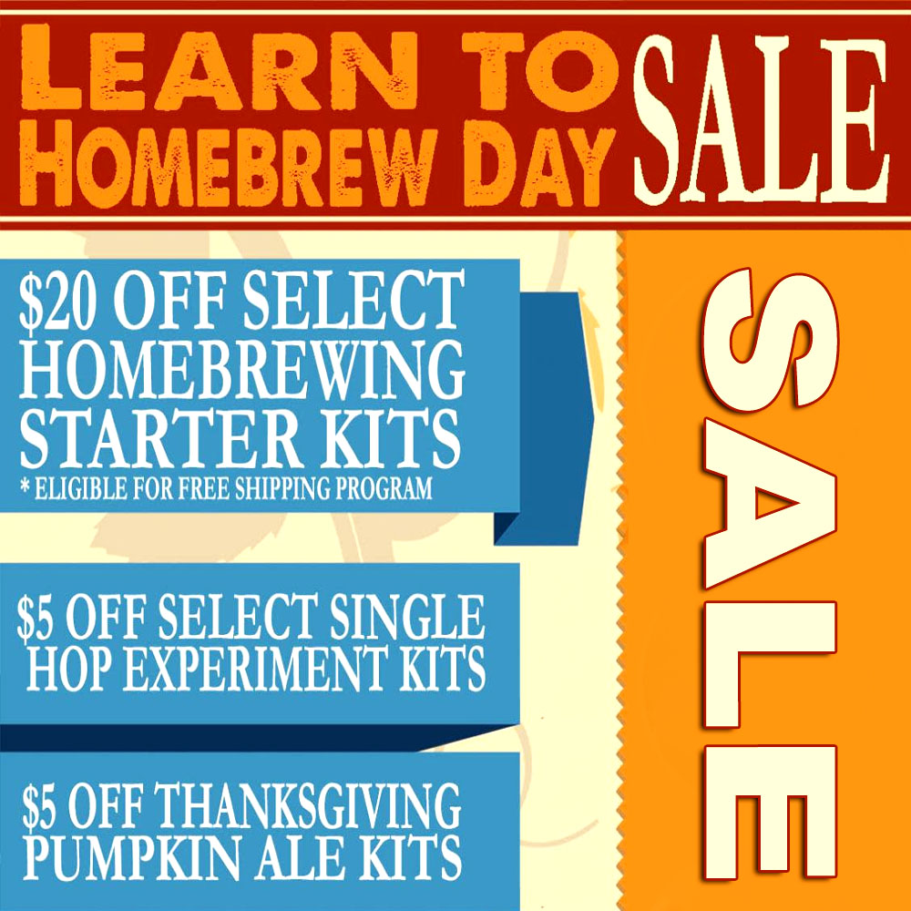 Save Big on Select Beer Kits at More Beer Coupon Code