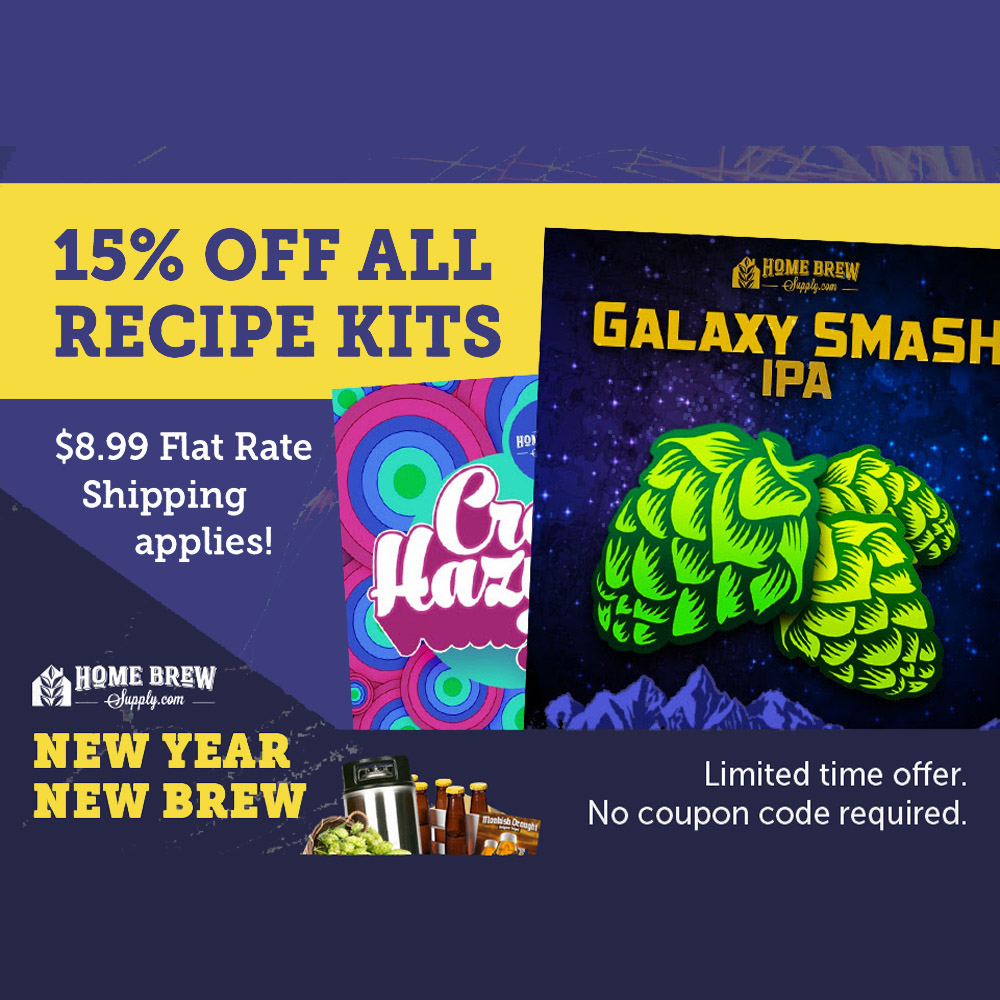 Save 15% On Home Beer Brewing Recipe Kits Coupon Code