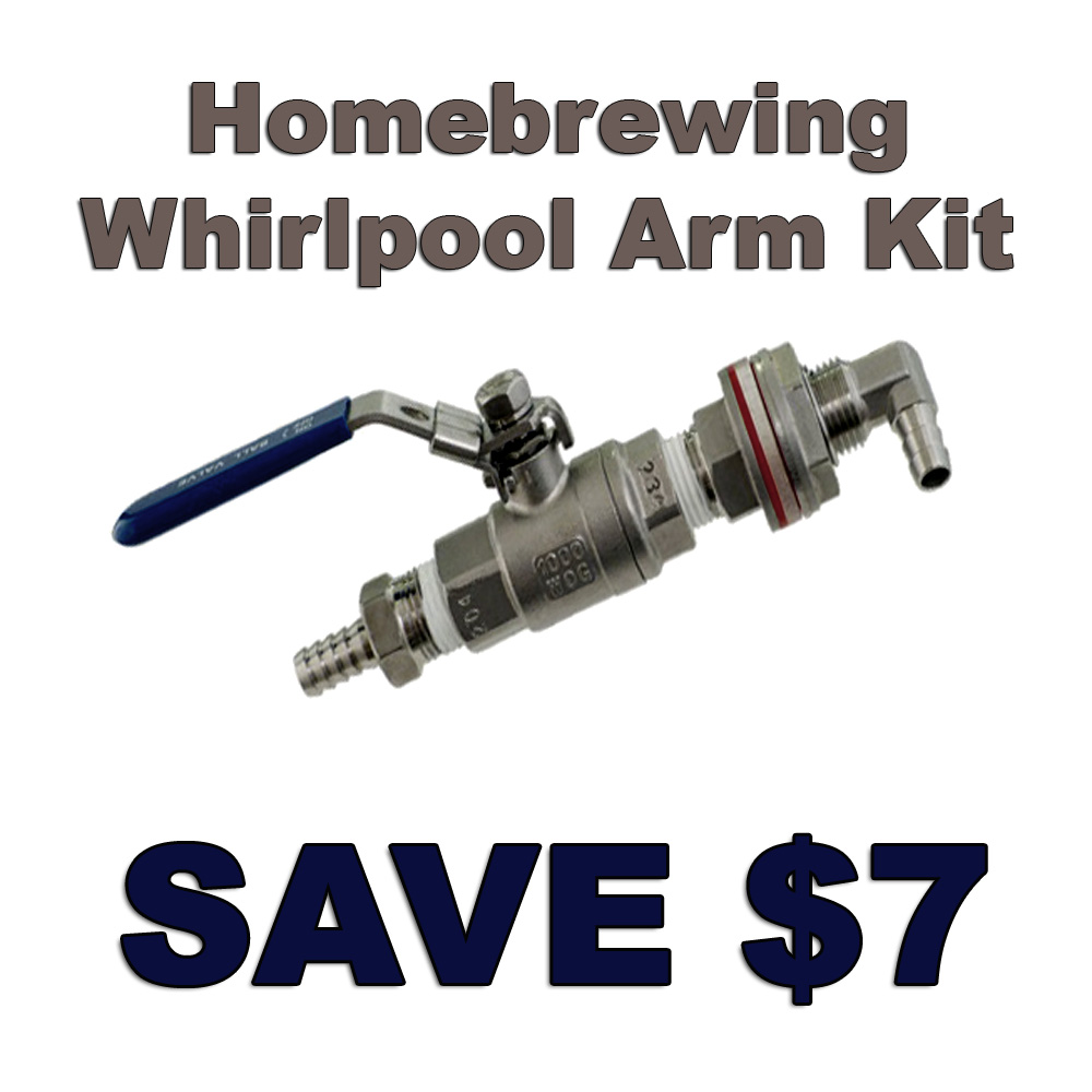 Stainless Steel Whirlpool Arm Kit Promo Code Coupon Code