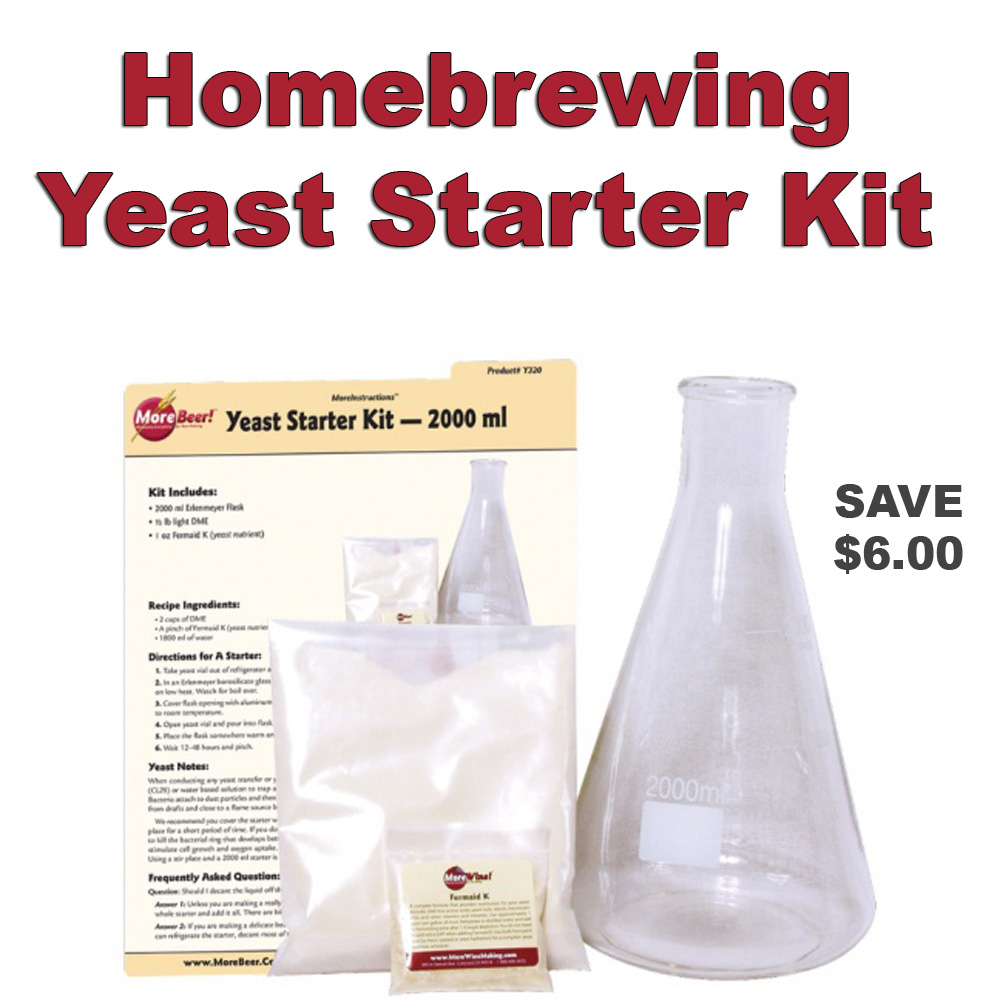Save Six Dollars On A Homebrew Yeast Starter Kit Promo Codes