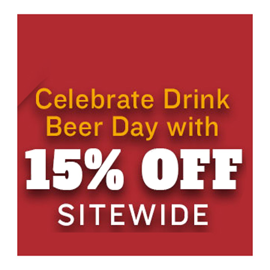 Save 15% Site Wide at Northern Brewer Coupon Code