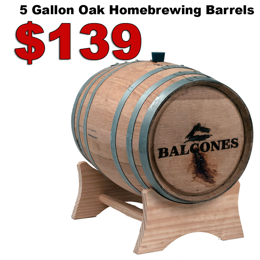 Now In Stock USED 5 GALLON OAK WHISKEY BARRELS for $139 Coupon Code