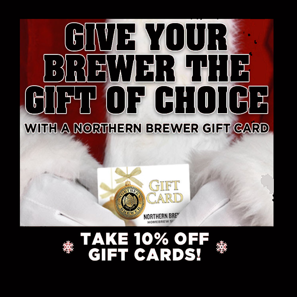 Save 10% On Northern Brewer Gift Cards Coupon Code