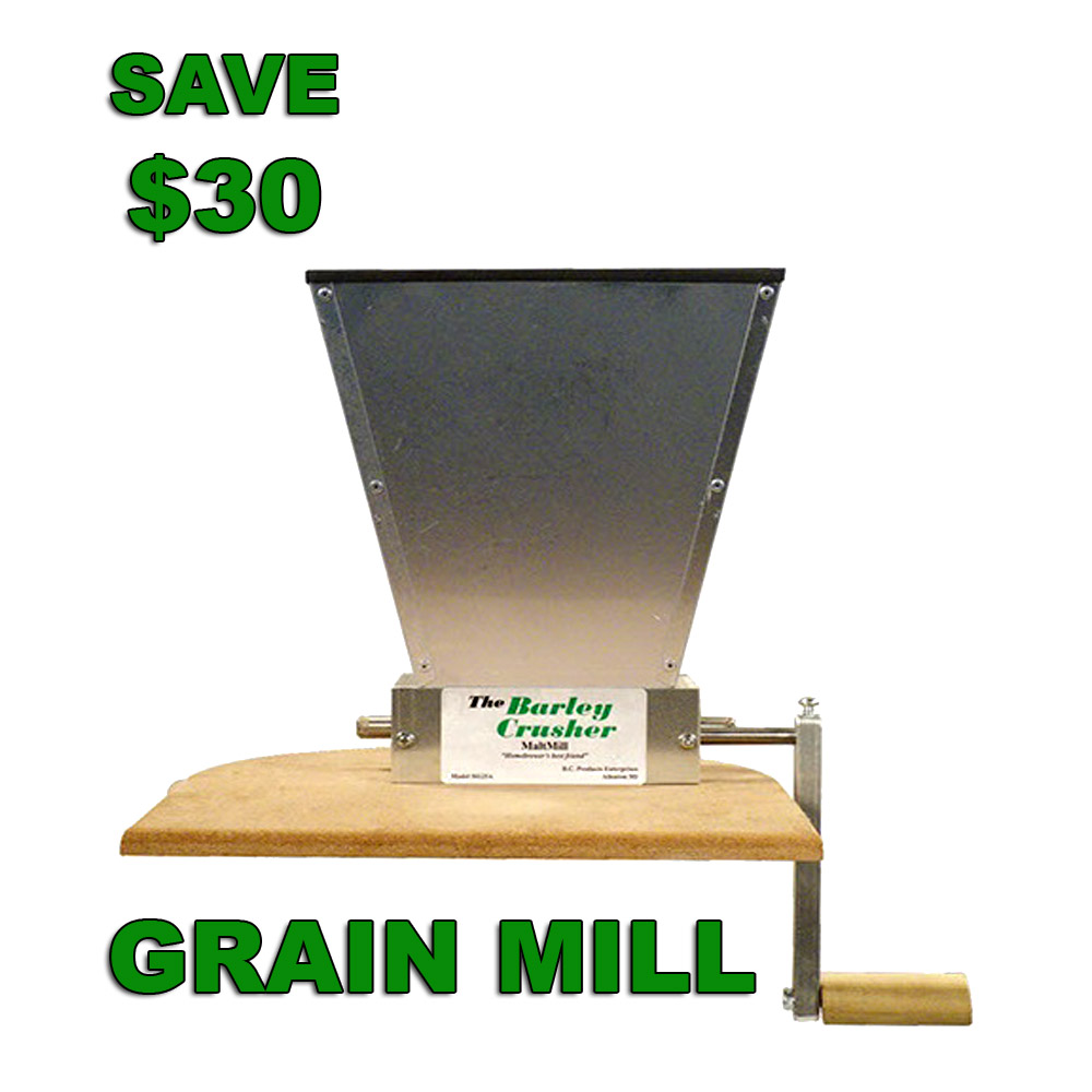 Today Only Save $30 On A Grain Mill With This More Beer Promo Code Promo Codes