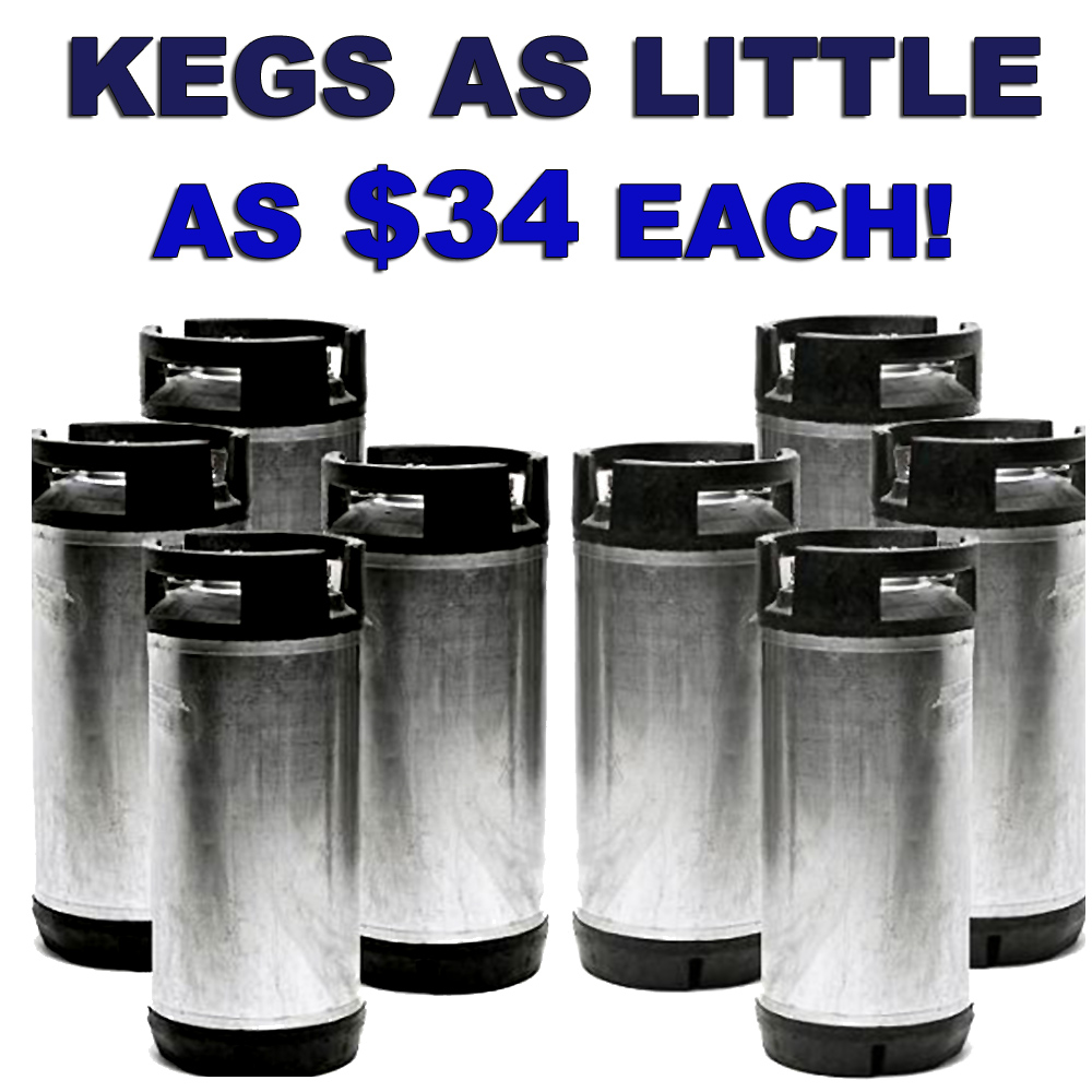 Get a 4-pack of Ball Lock Home Brewing Kegs for Just $139 Sale