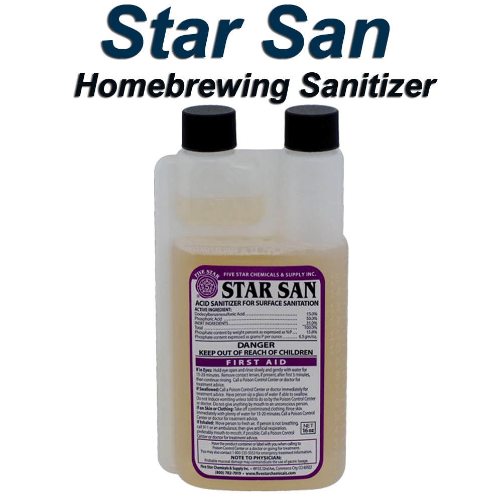 Sale Price $12.99 For A 16 oz Container of StarSan Homebrew Sanitizer Coupon Code