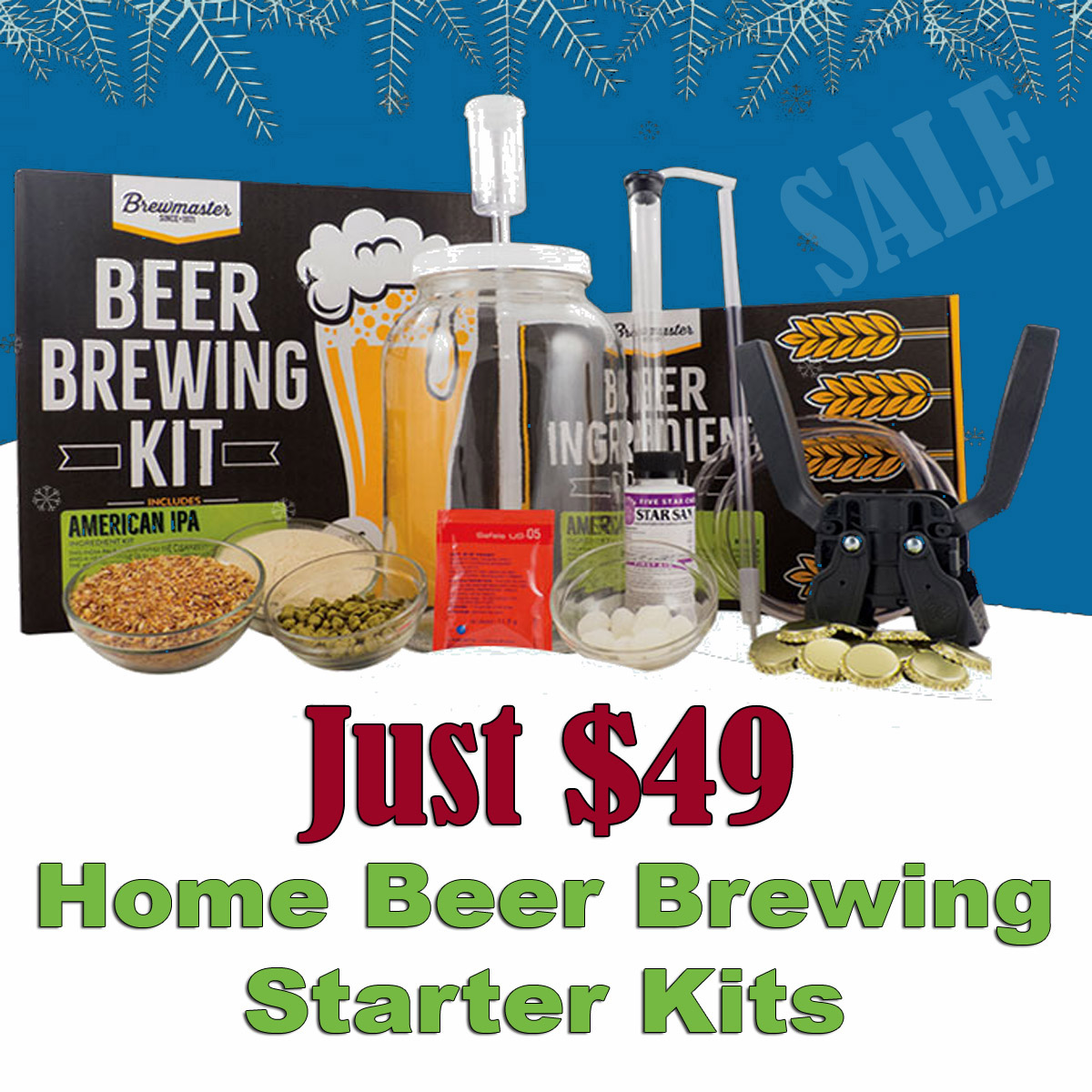 Give the gift of Brewing for Just $49! Sale