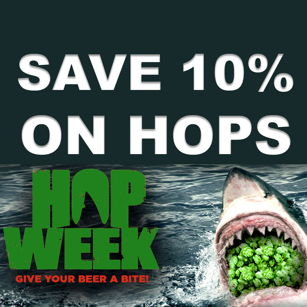 Save 10% On All Hops at MoreBeer.com Coupon Code